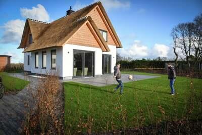 Luxueuse villa au toit de chaume, près de la mer sur Texel.