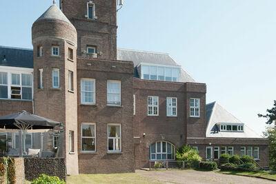 Maison de vacances vintage à Bergen aan Zee avec vue mer