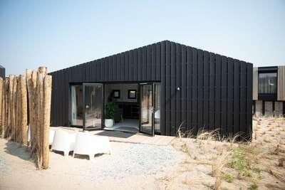 Lodge moderne, deux salles de bain, à 100 m de la plage