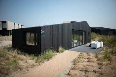 Lodge moderne et aménagé, à seulement 100 m. de la plage.