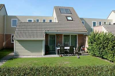 Maison de vacances avec terrasse sur le toit à Veerse Meer