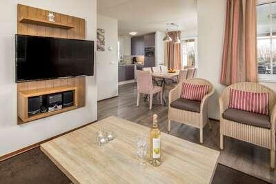 Villa individuelle avec terrasse chauffée, 400 m de la plage