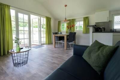 Lodge douillet avec lave-vaisselle, situé dans l'Achterhoek
