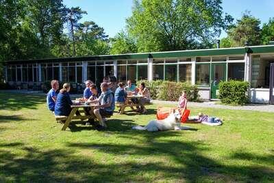 Hébergement de groupe près d'Assen avec barbecue et cheminée