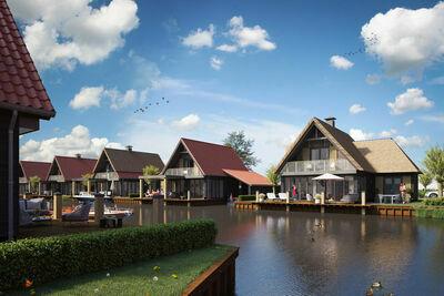 Luxueuse villa sur l'eau avec 3 salles de bains