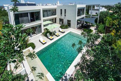 Villa de luxe à Tavira avec piscine chauffée