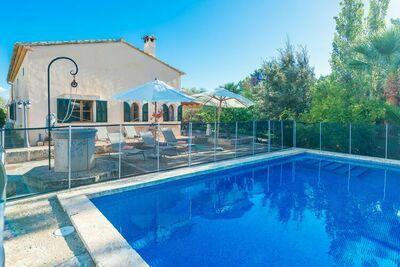 Villa de rêve à Manacor avec piscine
