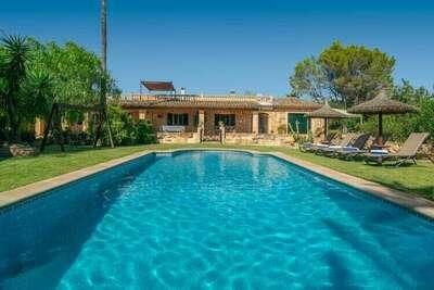 Charmante villa à Inca avec piscine
