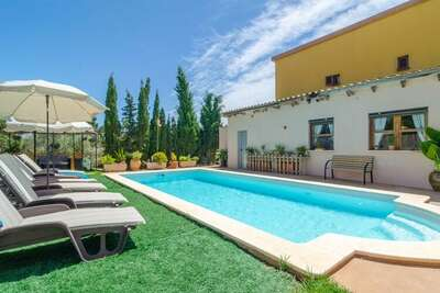 Villa captivante à Manacor avec piscine