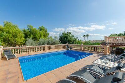Charmante demeure avec piscine à Marratxí