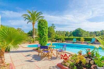 Ravissante villa à Sa Ràpita avec piscine