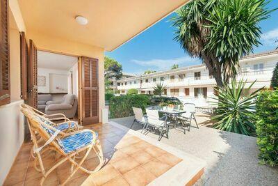 Appartement de vacances exquis à Can Picafort Espagne