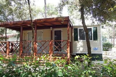Chalet confortable avec 2 salles de bains, à 31 km de Zadar
