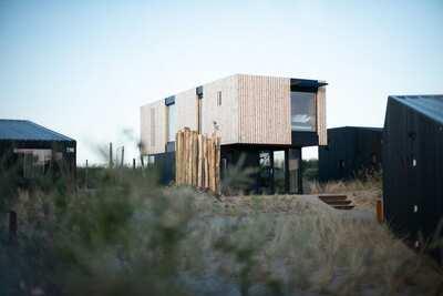 Lodge moderne et tendance, à thème Denim, à 100 m de la mer