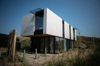 Lodge moderne et tendance, thème nature, à 100 m de la mer