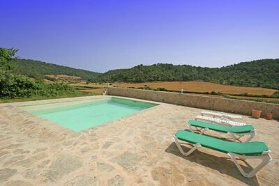 Demeure de charme à Es Mercadal avec piscine privée