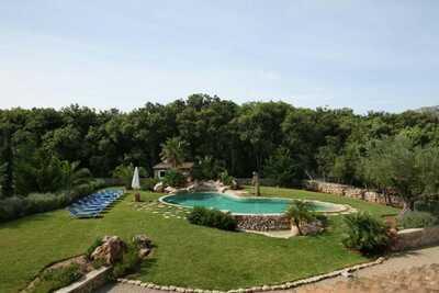 Paisible maison de vacances avec piscine privée à Pollença