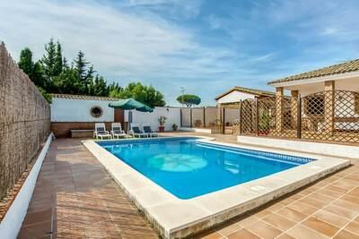 Villa adaptée aux enfants avec piscine privée près de la plage Vejer de la Frontera