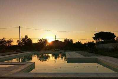 Maison de vacances relaxante à Partinico avec piscine
