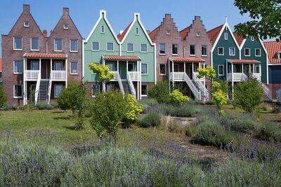 Maison de vacances restylée à la Volendam sur Markermeer