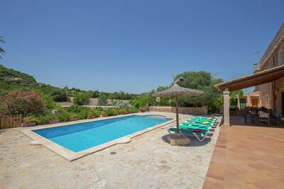 Charmant manoir à Felanitx avec piscine privée