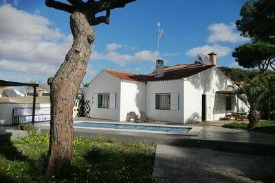 Maison de vacances à Isla Cristina avec piscine privée