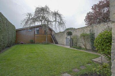 Chalet indépendant à Bayeux avec jardin
