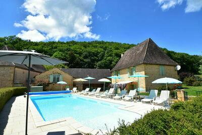 Maison de vacances rurale avec piscine en Aquitaine