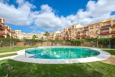 Maison de vacances sereine à Huelva avec balcon