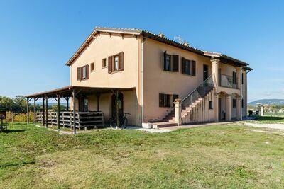 Très belle villa avec une vue imprenable à Montefalco
