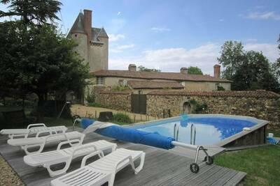 Magnifique demeure avec piscine à Saint-Paul-du-Bois