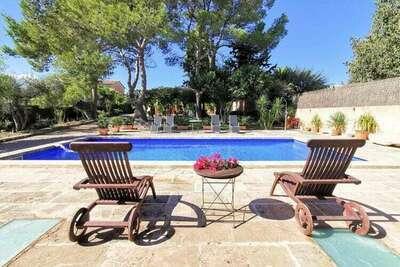 Charmante maison de campagne spacieuse 12 personnes piscine privée 4000 hectares de terrain
