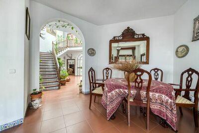 Boutique Maison de vacances à Higuera de la Sierra avec terrasse