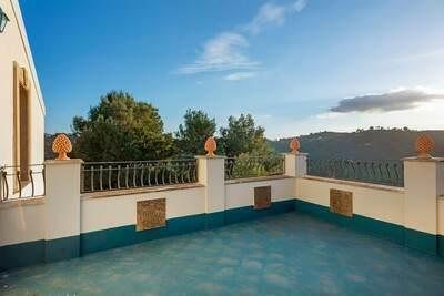 Charmante maison de vacances à Caltagirone avec jardin