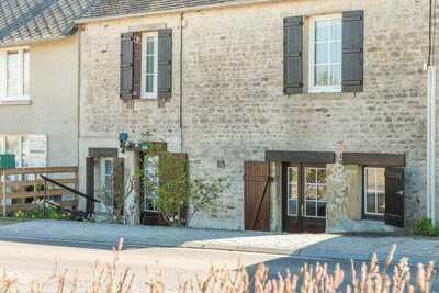 Maison de vacances simpliste à St-Laurent-sur-Mer avec terrasse