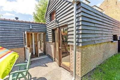 Maison de vacances élégante à Nieuwvliet avec jardin