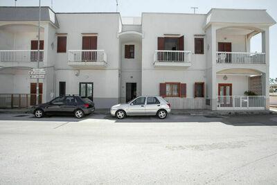 Élégante maison de vacances à Ostuni avec balcon