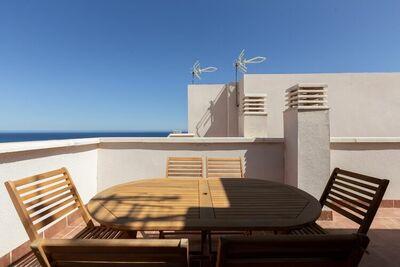 Maison de vacances confortable à Carboneras près du parc et de la plage d'Andalu