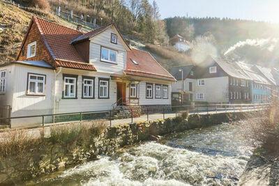 Jolie maison de vacances à Wildemann avec terrasse privée