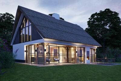 Luxueuse villa avec sauna, située à quelques minutes de la plage