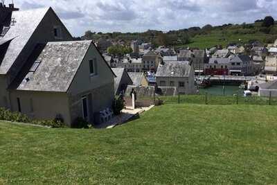 Spacieuse maison avec vue sur la mer et Port-en-Bessin