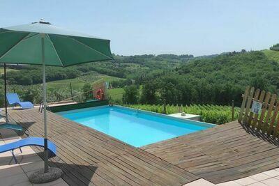 Ferme tranquille à Montespertoli avec piscine privée