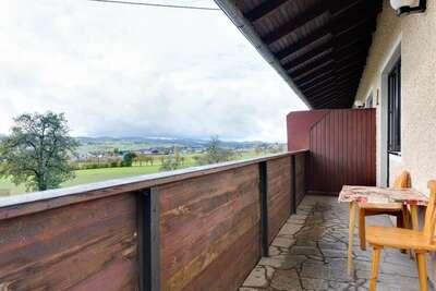 Belle maison de vacances à Ulrichsberg avec balcon