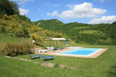 Maison de vacances pittoresque à Borgo Pace