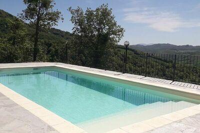 Ferme avec piscine privée et climatisation au coeur de l'Italie centrale