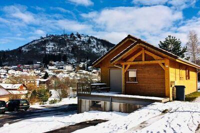 Magnifique chalet avec terrasse situé au plein centre de La Bresse