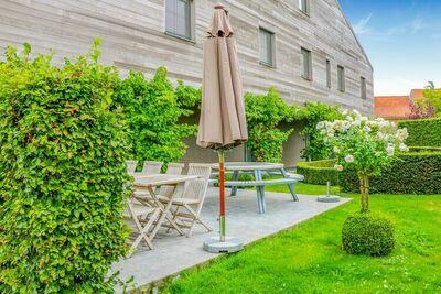 Maison de vacances idéale à Gijverinkhove avec terrasse, jardin