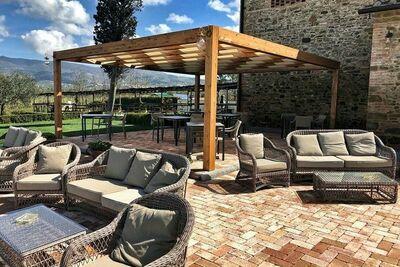 Maison de vacances atypique avec piscine à Florence, Toscane