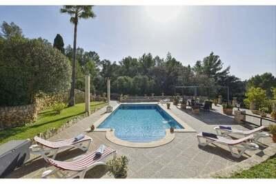 Villa rustique située dans le magnifique village majorquin de Sineu