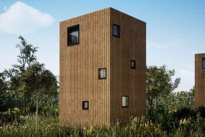 Lodge spécial avec vue magnifique, Maastricht à 17 km